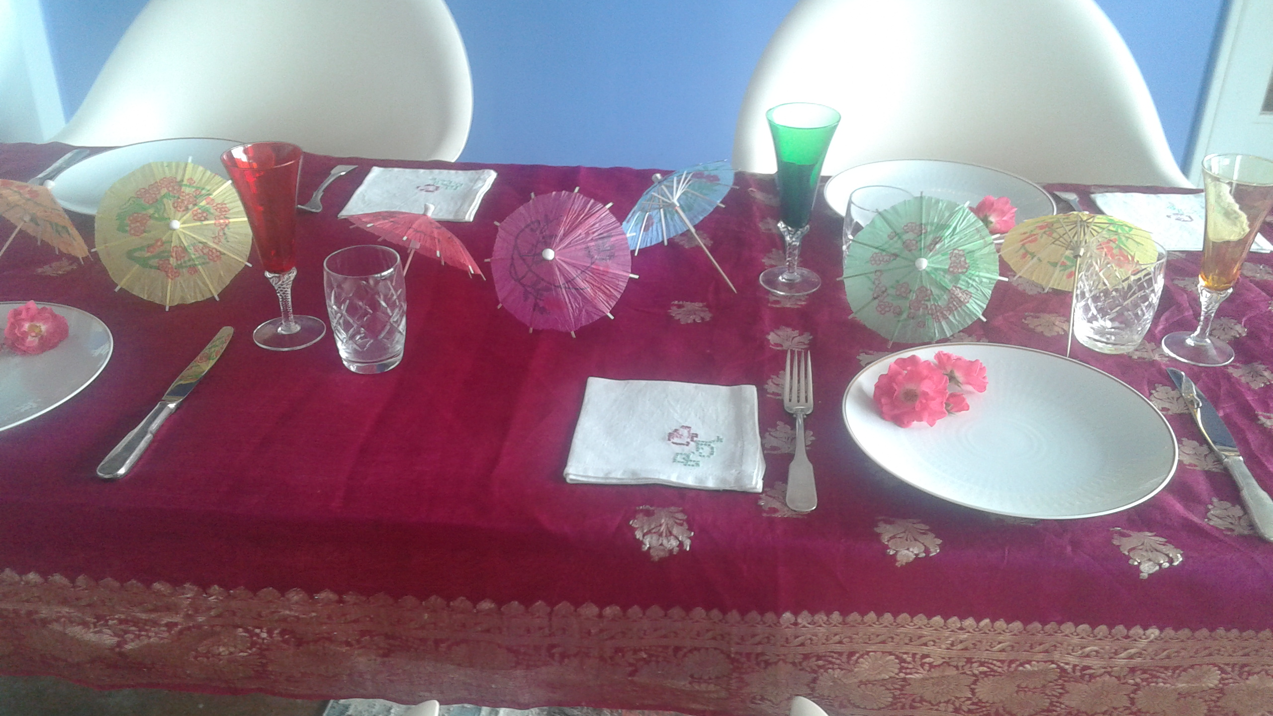Christms table